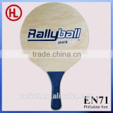 2015 TOP QUALITY MDF carbon Wooden Beach tennis racket /beach bat /beach paddle set with beach ball wholesale