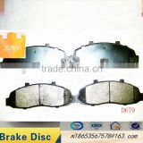Excellent quality brake pad for 7558-D679 F 150 semi-metalic or ceramic materials car parts