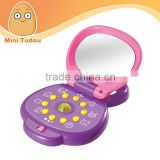 baby funny educational machine toys with mirror and light