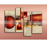 JC Long Designer 4 Pieces Abstract Living Room Home Decoration Hand Painted Oil Painting On Canvas HP-13