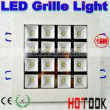 indoor led grill lighting cheap led grille lights CE RoHS Warranty 2 years t5 led grille light 16W