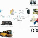 100% Factory WiFi 3G Optional Aluminum Alloy Housing 4CH SD Card Mobile DVR for Trucks