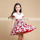 Girls Fashion Casual Frock Designs Dresses for Children 7 Years
