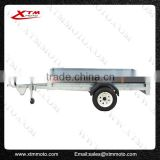 XTM T galvanized steel trailer frame drop side trailer