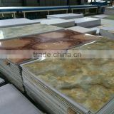 Factory professinal manufactures high quanlity UV Imitated Marble Board for India market