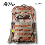 Red Camo Molle System Climbing Backpack With Hydration Funtion