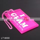 ID Clear Plastic Luggage Tags