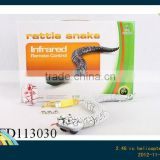 Infrared Rc rattle snake with light(without charger,4 colors)