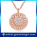 Top Quality New Fashion export supply Fashion bridal crystal big round full diamond indian statement necklace N0080