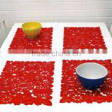 fashion appearance ,colourful placemat,multifunctional heat insulation mat,pot holders or cleaning pads