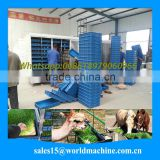 hydroponic poultry feed manufacturing machine for sale/hydroponic fodder system/hydroponic culturing barley breeding machine