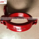 PM wedge clamp Concrete pump schwing wedge coupling 6""