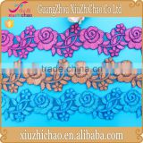 T0508-1 ( 1.3) 2015 top one wholesale cord lace royal blue embroidery flower patterns lace