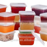 Mini Food Storage Containers Condiment and Sauce Containers/Baby Food Storage and Lunch Boxes/Leak-resistant
