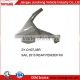 High Quality Auto Body Parts Chevrolet Sail 2010 Rear Car Fender