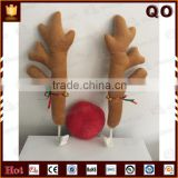 Hot selling Christmas decoration Reindeer Antlers and nose for car