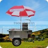 2013 Preferential Price 3 Wheels 1.1M Electric Mobile Small Hot Dog Trailer Cart XR-HD110 A