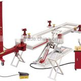single pulling tower car frame straightening machine