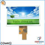 vehicle traveling data recorder 7'' inch 800*400 WVGA resolution Tft Lcd display