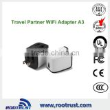 New wifi router wireless N wifi repeater with power charging adapter