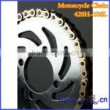 SCL-2012120101 China Manufacturer sale motorcycle transmission parts chain sprocket withacceptable price
