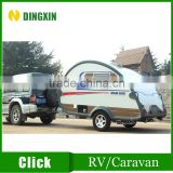 Small size off road travel trailer / Mini Caravan camper