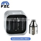 Wholesale Philippines High Quality All-Metal Body Design Original Wismec Indestructible RDA Fit Reuleaux RX200 Box Mod