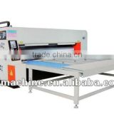 [RD-SB1500-2600-3] Semi-auto package making machine with 3 color corrugated carton flexo printing slotting