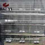 Cheap Galvanized Rabbit Cage/Metal Wire Farming Breeding Cage/Commercial Rabbit Cage For Sale