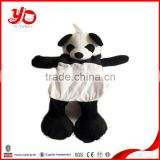 Wholesale panda plush toy skins unstuffed plush panda skins                                                                         Quality Choice
