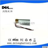 3.7v 120mAh recharge lithium polymer battery 301030 for Voice Recorder pen china manufacturer