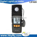 digital lux meter for led photoelectric beam sensor detector 1-200,000 Lux with USB