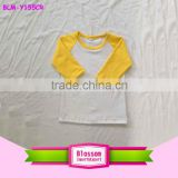 Plain gold raglan sleeve t shirts manufacturers in china blank raglan t shirt wholesale
