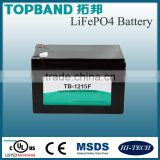 LiFePo4 Battery 12V 15ah 40Ah for Motor Cycle / Scooter / Golf Trolley