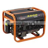 WH3500LPG Clean Burning 2500/2700 Watt AC Single Phase Output Type lpg generator consumption
