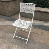 Cheap steel folding chair, used mesh patio furniture, french country chair furniture                                                                         Quality Choice