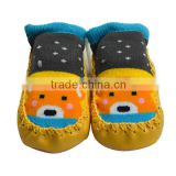 Best sale kids rubber sole baby sock shoes