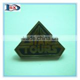 High quality metal pin badge/lapel pin badge/printed badge pins new arrival for promotion