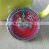 Fire extinguisher pressure gauge/manometer (bourdon tube type/spring type)