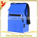 300D polyester with PVC Backing Insulated Lunch Tote Cooler Bag with Adjustable Strap and Name Tag