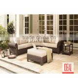 Manufacturer wholesale Outdoor Modern rattan furniture/ rattan furniture garden set/ outdoor rattan sofa