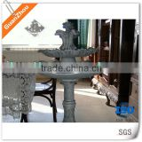 Outdoor garden Cast iron water fountain