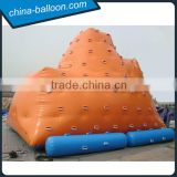 Inflatable water climbing wall/inflatable water ice berg / Inflatable water ice mountain for sale