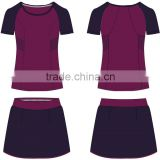 2014New Design Sublimation Fashion Lady Tennis Dress Tennis wear