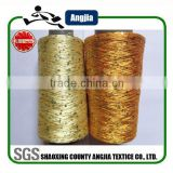 High quality polyester knitting sequin yarn polyester spun sequin yarn for sewing thread