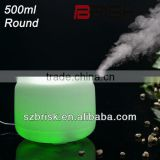 2013 pretty 14 colors 500ml round home diffuser/home air purifier/ultrasonic fogger