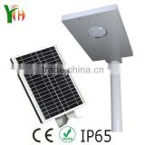 12w Led Street Light Replacement Bulbs CE CCC Certification Motion Sensor Led Solar Street Light