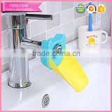 factory price silicone+pp tap sink hand washing faucet handle extender for baby kid toddler