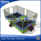 China factory TUV/ASTM/CE certificate free design cheap outdoor indoor mini square trampoline