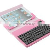 Universal PU leather tablet case with keyboard wireless for 7-8 inches, android ISO system-TY4708